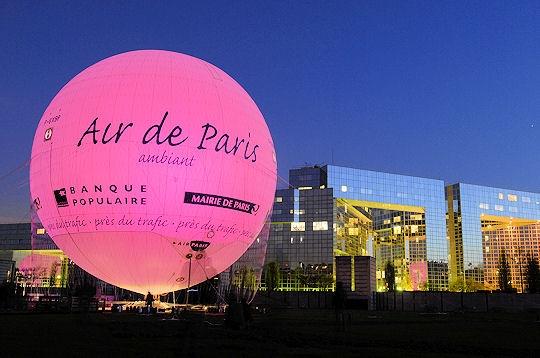 Ballon air Paris