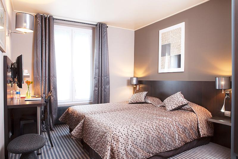 hotel jardin de villiers chambre r nov e blog d 39 h tel paris. Black Bedroom Furniture Sets. Home Design Ideas