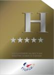 Panneau hotel 5 étoiles