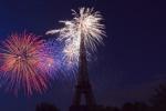 Feu d'artifice 14 juillet Trocadero