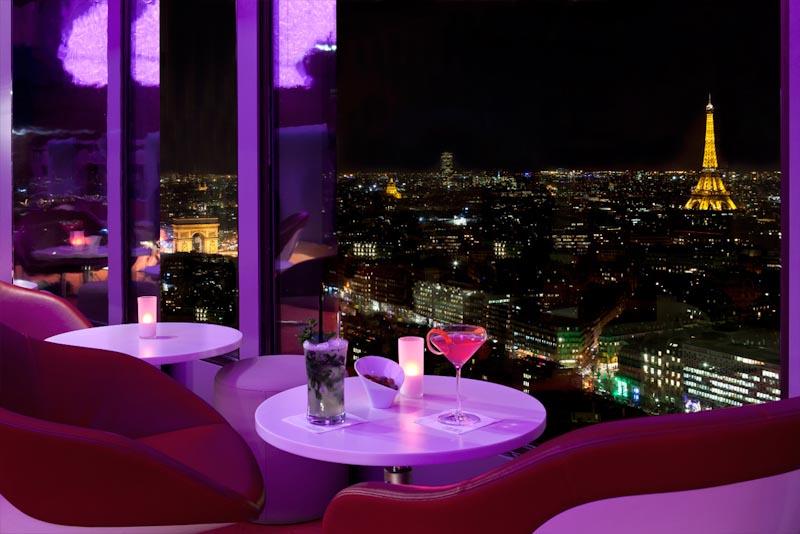 Panorama Bar La Vue Hotel Concorde La Fayette Blog D