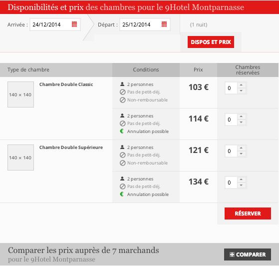 H tel paris se rhabille blog d 39 h tel paris for Comparateur prix hotel paris