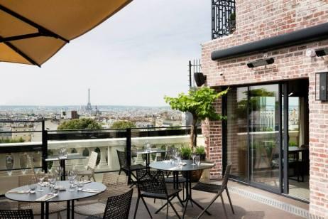 Terrass'Hotel à Montmartre
