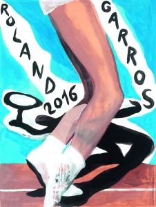 Affiche-officielle-Roland-Garros-2016-Marc-Desgrandchamps-tennis-FFT