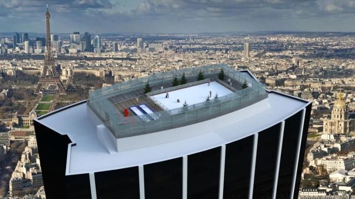 Concept Patinoire OPTM